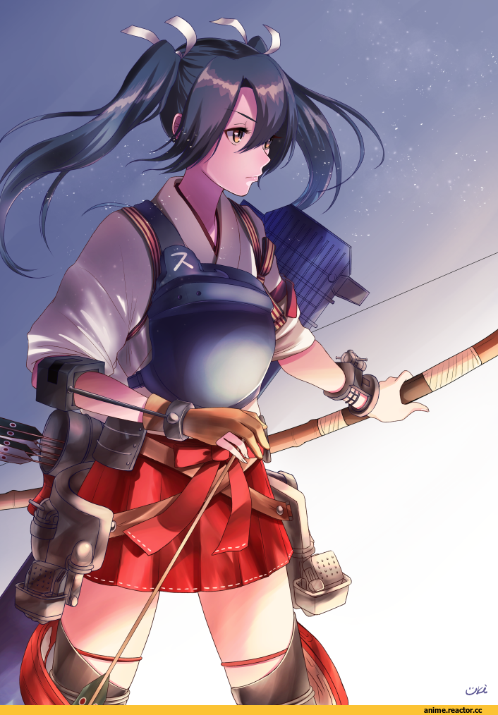 Zuikaku, Kantai Collection, uki, Anime