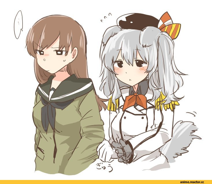 rebecca (keinelove), Ooi (Kantai Collection), Kantai Collection, Kashima (Kantai Collection), Inumimi, Animal Ears, Anime